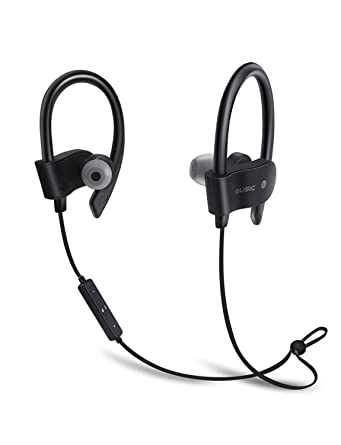 WIW inalámbrico auriculares Bluetooth impermeable HD 56S estéreo 4.1 Deportes Wireless auriculares entrenamiento 10 horas de