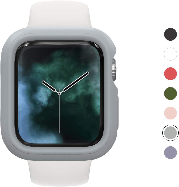 funda RhinoShield p/ Apple Watch Series 5 4 40mm gris plata
