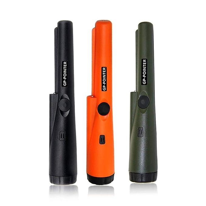 Detector de metales Pro, puntero portátil GP Puntero automático impermeable Pinpointer Detector de metales portátil con luz LED Detección de 360 ...