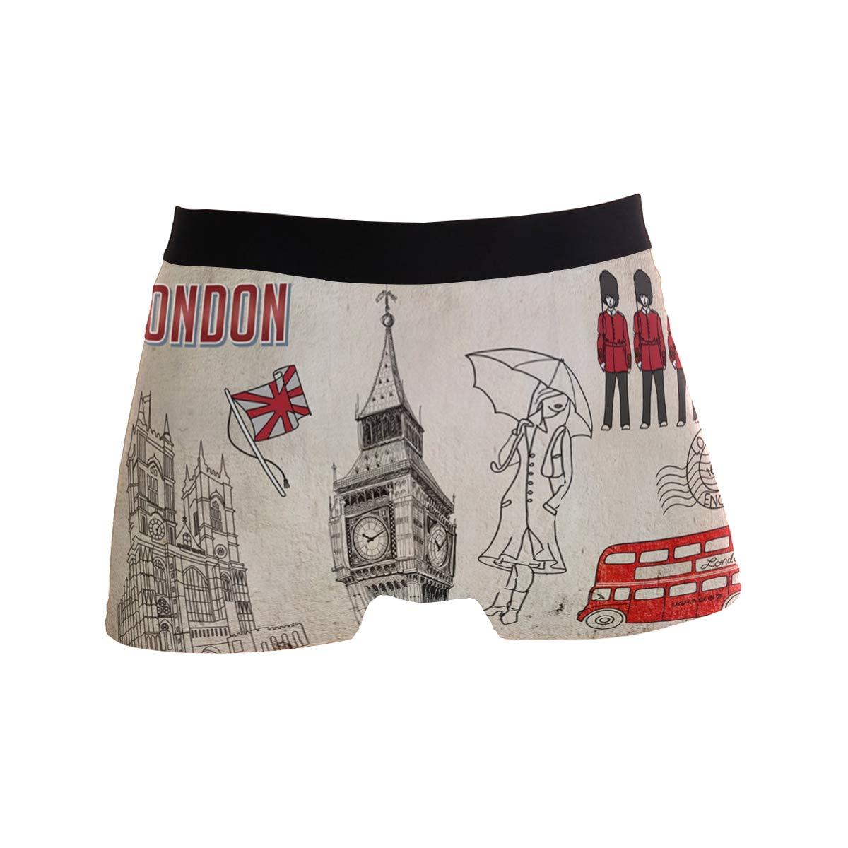 Chinein Breathable Boxer Brief Underwear Mens Boys London Britain Elements