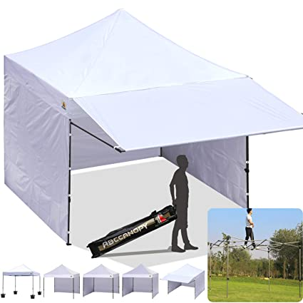 ABCCANOPY 10x10 EZ Pop up Canopy Tent Instant Shelter Commercial Portable Market Canopy with 4 Removable  sc 1 st  Amazon.com & Amazon.com : ABCCANOPY 10x10 EZ Pop up Canopy Tent Instant Shelter ...