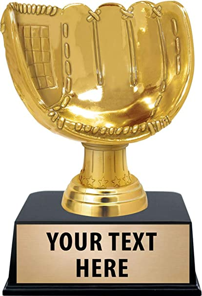 Crown Awards Softball Trophy 14 Gold Cup Softball Champion Trophies with Free Personalization Prime