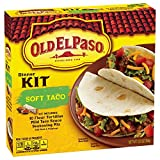 Old El Paso Soft Taco Dinner Kit 12.5 oz. Box (Pack of 6)