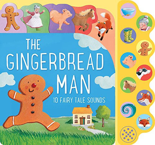 The Gingerbread Man: 10 Fairy Tale Sounds (10 Button Sound)