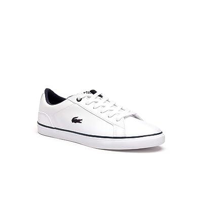f885e069b3 Lacoste Lerond BL 2 Jr 737cuj0027042, Sneakers Basses Mixte Enfant, Blanc  (White)