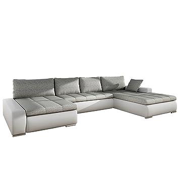 Grosses Design Ecksofa Caro Elegante U Form Couch Eckcouch Mit Bettkasten Und Schlaffunktion