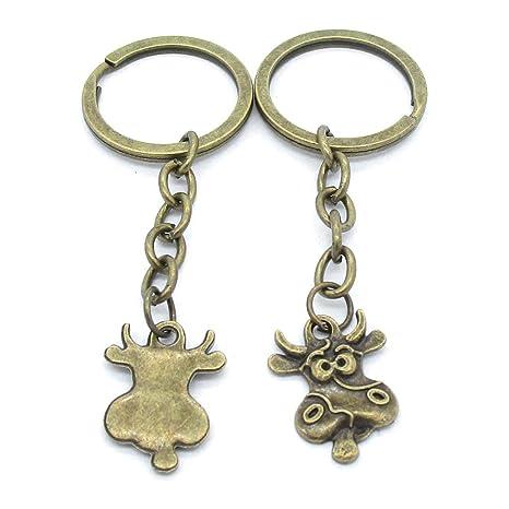 Amazon.com: Llavero llavero etiquetas cadenas anillos ...