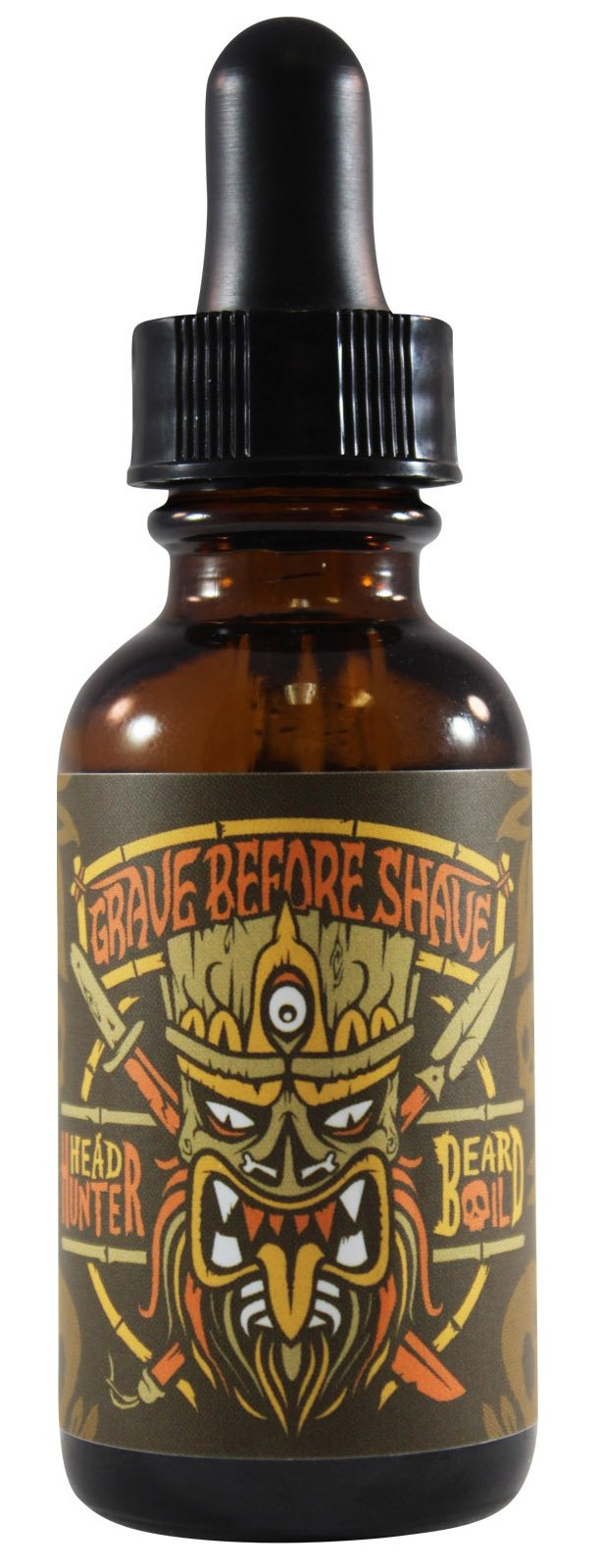 GRAVE BEFORE SHAVE HEAD HUNTER BEARD OIL
