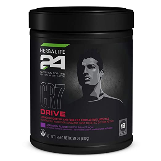 Amazon.com: Sports Drink CR7 Drive Açaí Berry Flavor 810g Supports Hydration & Energy Levels: Health & Personal Care