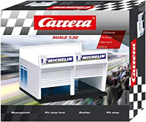 Carrera Pit Stop Lane Double Garage Building 1:32 scale 21104