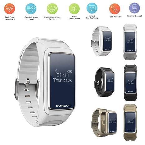 Amazon.com: Arilove B7 Reloj inteligente resistente al agua ...