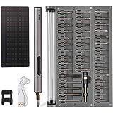 Amazon.com: Destornillador eléctrico portátil, mini ...