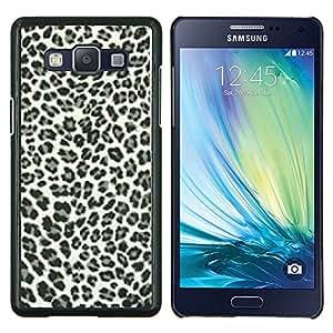 """Be-Star Único Patrón Plástico Duro Fundas Cover Cubre Hard Case Cover Para Samsung Galaxy A5 / SM-A500 ( Los puntos del leopardo Patrón Negro Piel Blanca Bling Posh"""" )"""