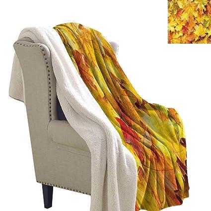 Awesome Amazon Com Fall Lightweight Microfiber Blankets Wet Maple Ibusinesslaw Wood Chair Design Ideas Ibusinesslaworg