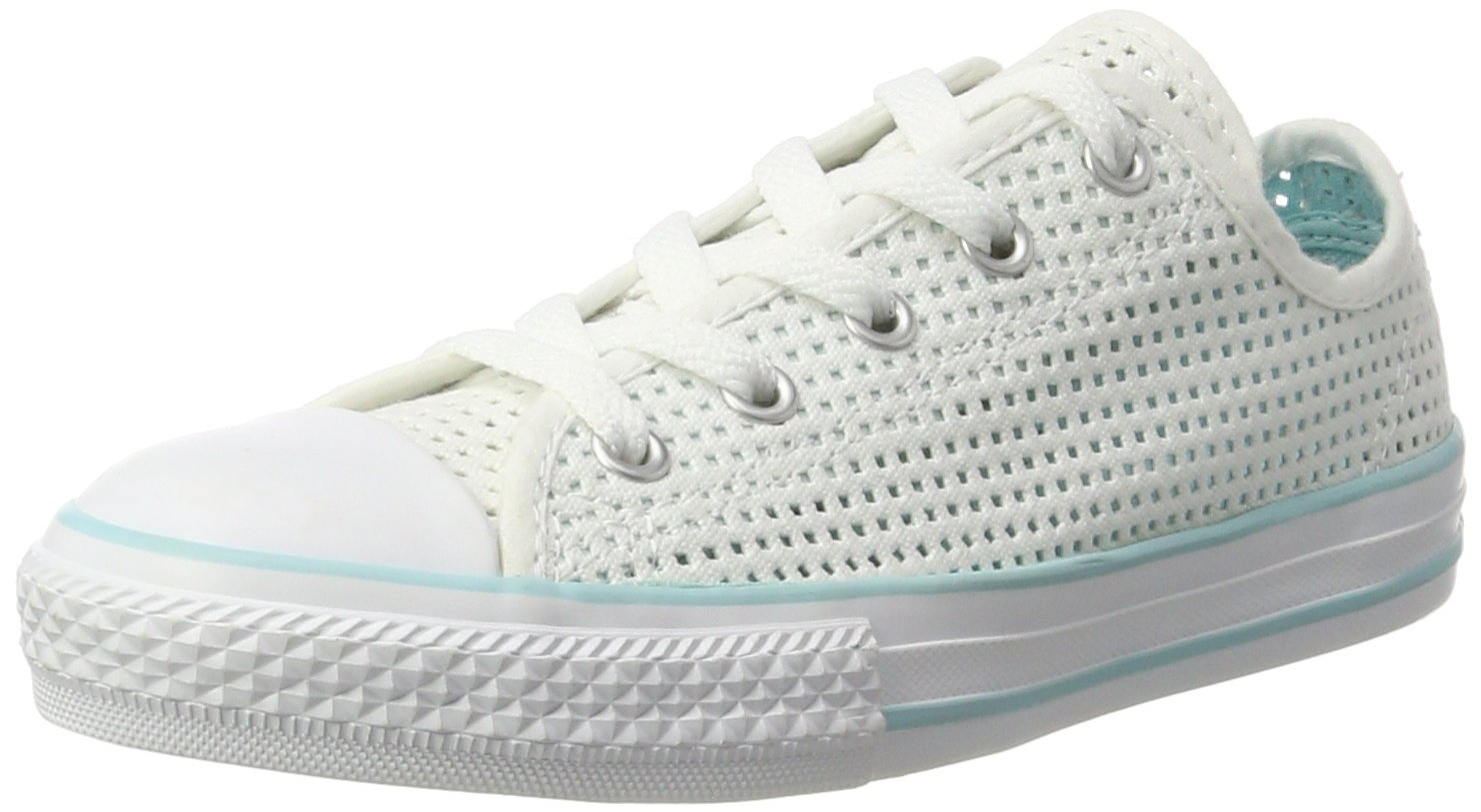 Converse Zapatillas Chuck Taylor All Star Double Tongue Ox Blanco/Turquesa EU 32 lpF0HG