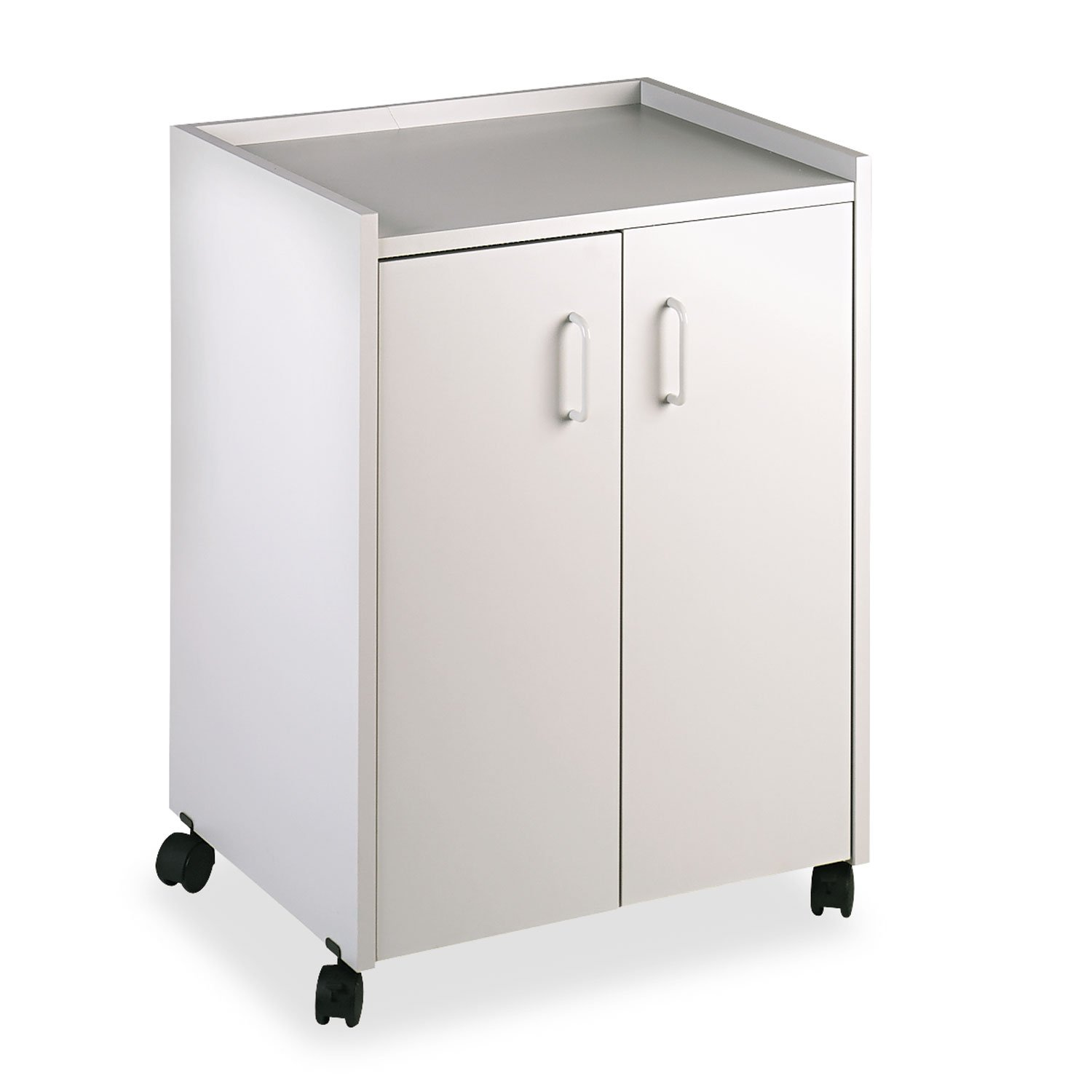Amazon.com: Safco Products 8953GR Mobile Refreshment Hospitality Center,  Gray: Kitchen & Dining
