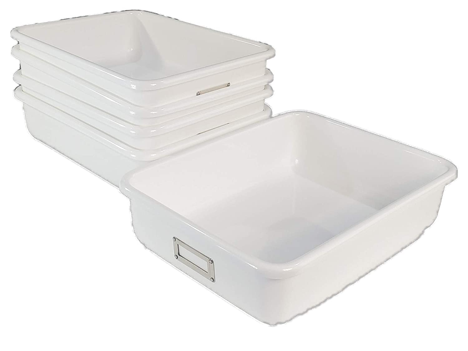 White T 181-4 Lab Tray Case Pack of 5
