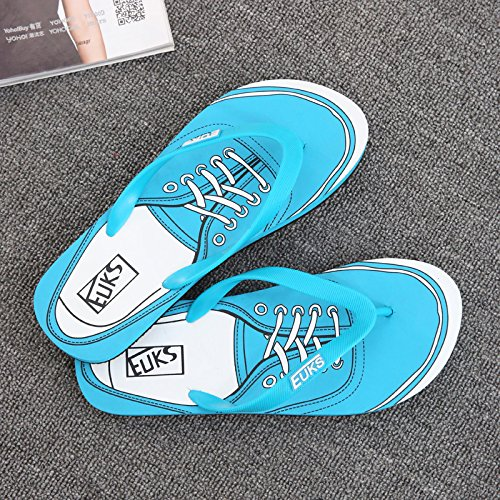 Xing Lin Sandalias De Hombre Flip-Flops Hombres Verano Wearable Hombres Zapatillas De Playa En Verano, Patinaje Patín Zapatos Tendencias Sandalias Casuales Hombres Moonlight
