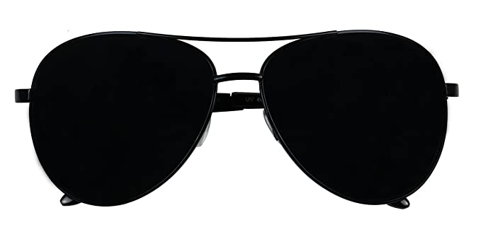 oversized black aviator sunglasses 89f2  Basik Eyewear