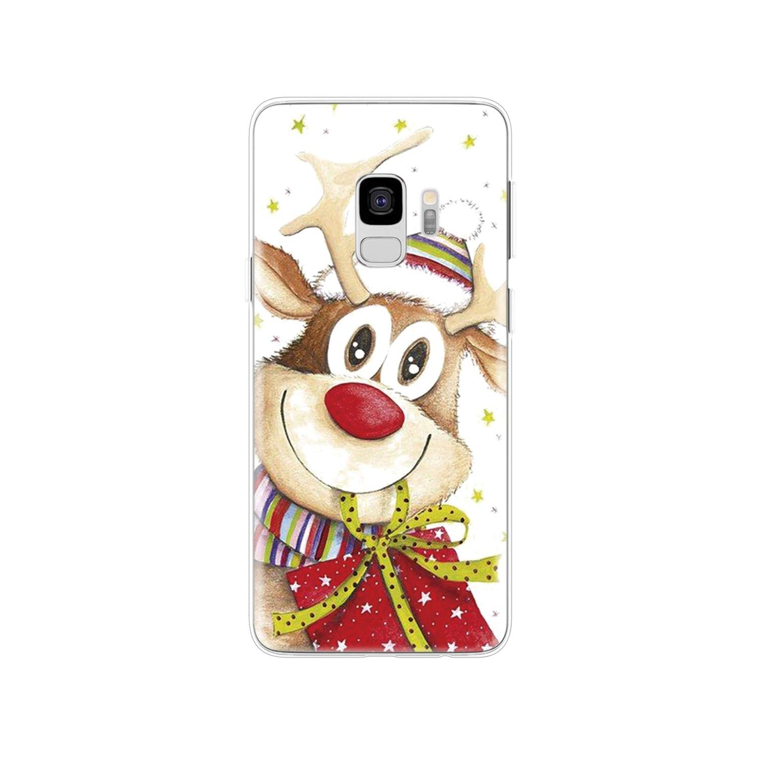 Amazon.com: Merry Christmas Happy New Year Case for Samsung ...