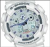 G-Shock GA100A-7A X-Large Men's White Resin Sport Watch
