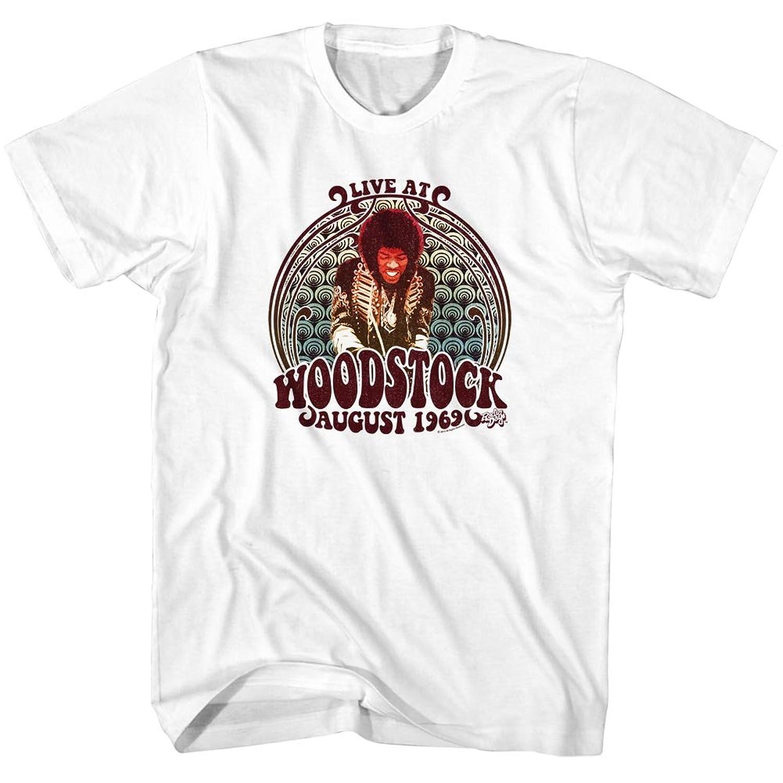 Jimi Hendrix - Mens Jimi Swirls T-Shirt