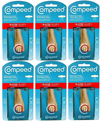 Compeed Blister On Toes - Pack of 6