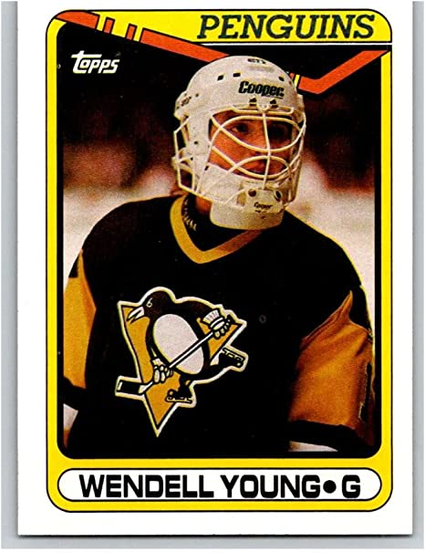 Amazon.com: 1990-91 Topps #309 Wendell Young Mint Hockey NHL Penguins:  Collectibles & Fine Art