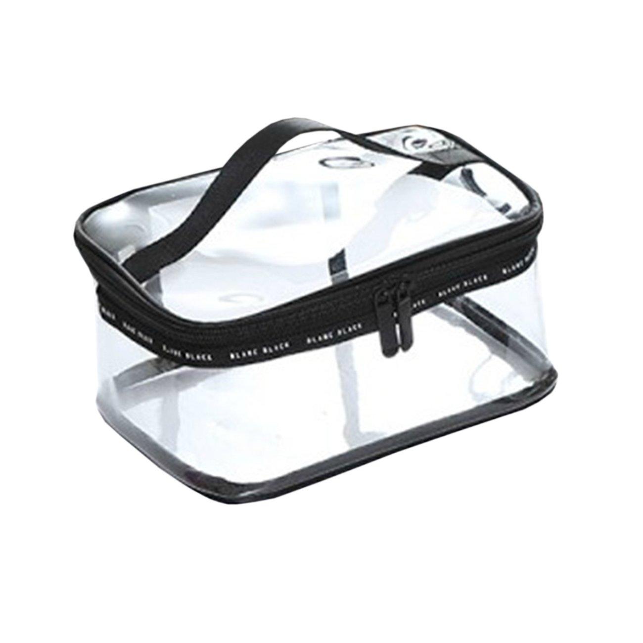 THEE - Trousse de toilette/pour cosmétique - Transparente - De voyage 3pcs set