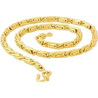 Voylla Chain Necklace for Men (Golden)(8907617097329)