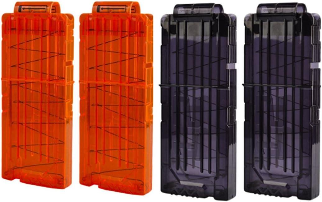 hongci suave Bullet Gun Clip Clip de recarga rápida para Nerf Elite Series cartucho de munición balas de pistola de juguete dardos Nerf pistola Clips