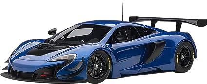Black 1:18 Model AUTOART McLaren 650s Gt3 Blue