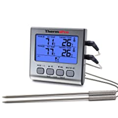 Grillthermometer ThermoPro Digital mit Timer im Test 2018