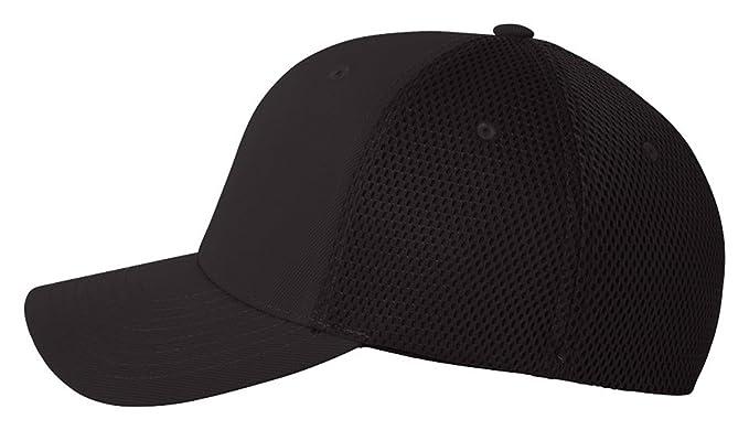 033ba0e1157 Flex fit Men s Flexfit Ultrafibre Mesh Fitted Cap (Black