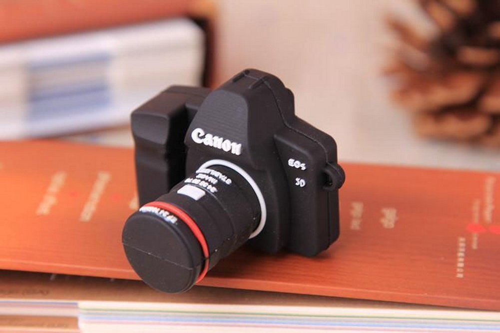 Creative Silicone Camera USB 2.0 Flash Drive 8GB by UE STORE (Image #2)
