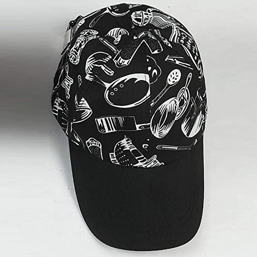 woyaochudan Chef Béisbol Gorra Raya Cubiertos Plaid Pepper Work ...