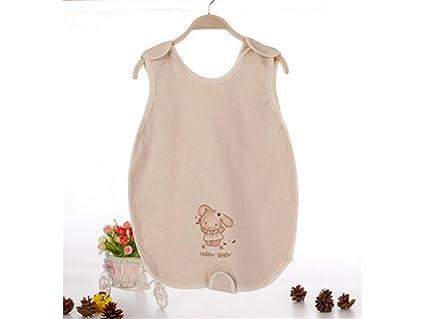 kxrzu Gracioso Saco de dormir sin mangas del verano del bebé recién nacido antideslizante Sleepsacks conveniente