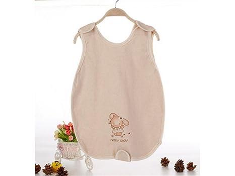 Saco de dormir sin mangas del verano del bebé recién nacido antideslizante Sleepsacks conveniente para 0