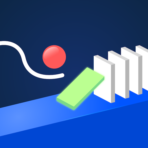 (Hello Happy Domino - Physics Draw and Drop - popular super simple fun games for free (2019) no wifi)