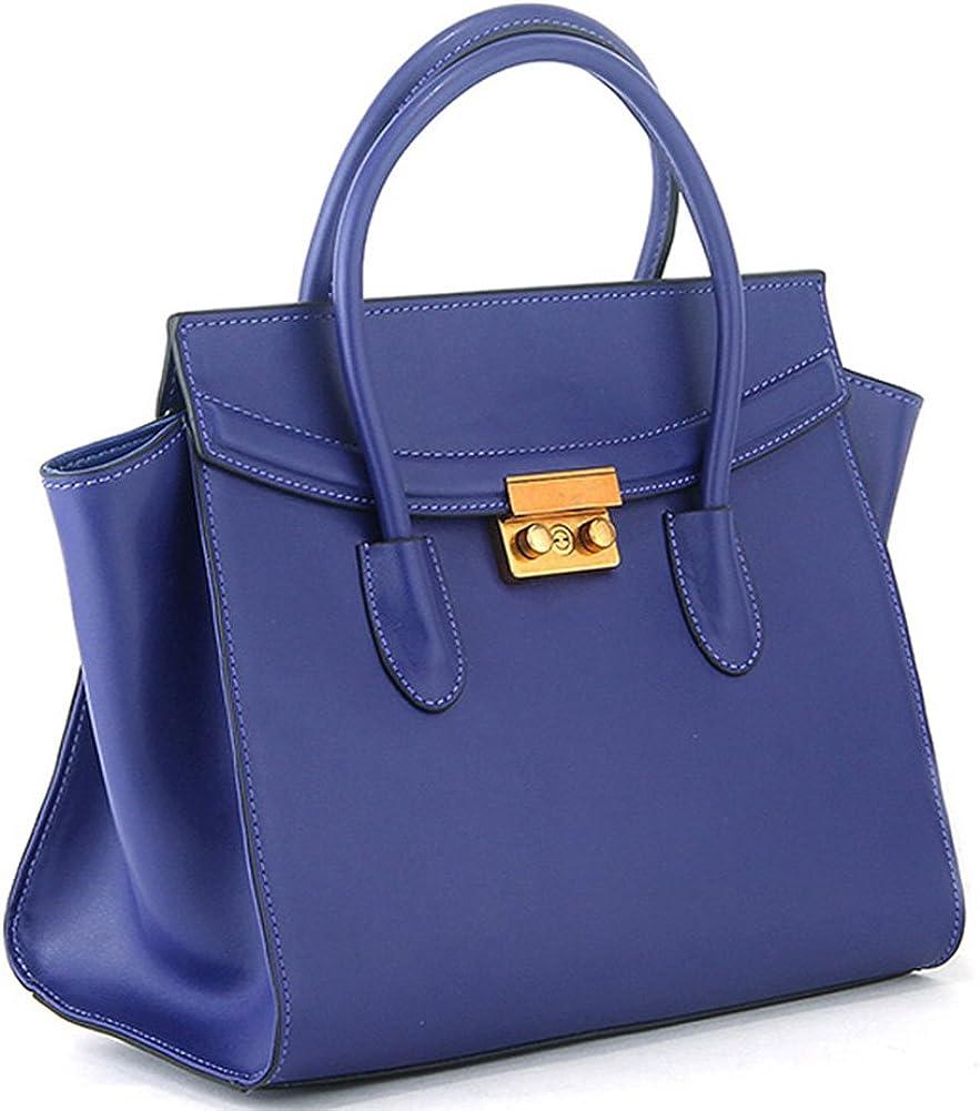Small Ear Shape Nappa Leather Fashion Handbag