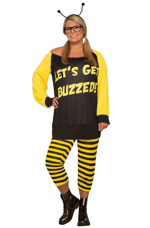 Forum Novelties – Let'S Get Buzzed – Plus Costume