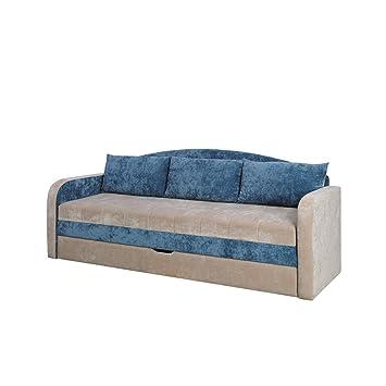 Mirjan24 Schlafsofa Tenus, Sofa Couch mit Bettkasten und ...