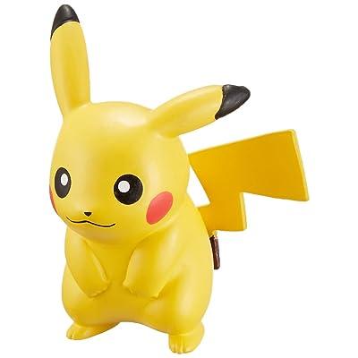 Takaratomy Pokemon Sun & Moon EX EMC-01 Mini Action Figure, Pikachu: Toys & Games
