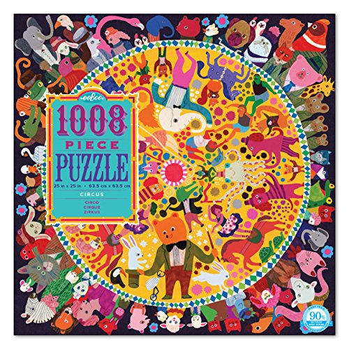 eeBoo Circus Jigsaw Puzzle, 1000+ pieces