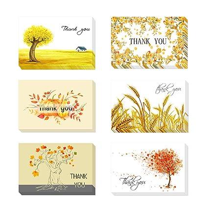 Tarjetas de Agradecimiento, 24 Tarjetas de Felicitación ...