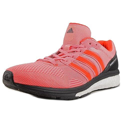 Adidas adizero Boston Boost 5 corriendo zapatilla zapatos Pink / Black
