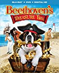 Cover Image for 'Beethoven's Treasure Tail (Blu-ray + DVD + DIGITAL HD)'