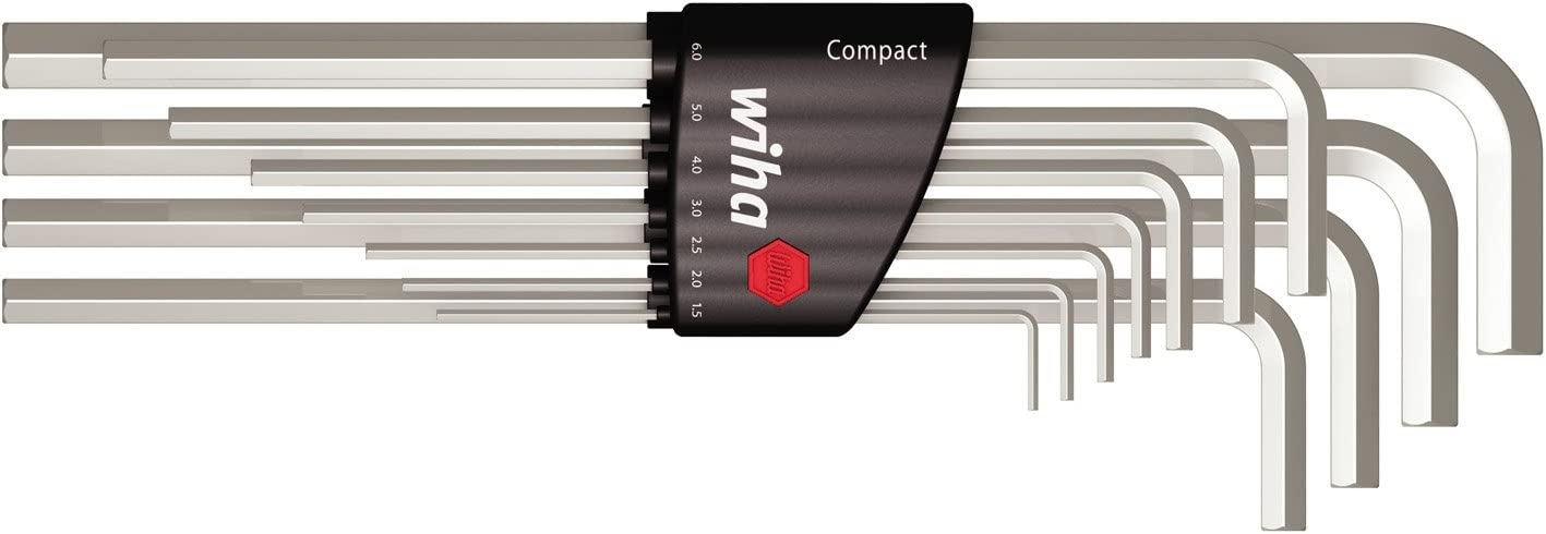 Wiha 352 H11 Allen Key Set Compact Holder Set of 11
