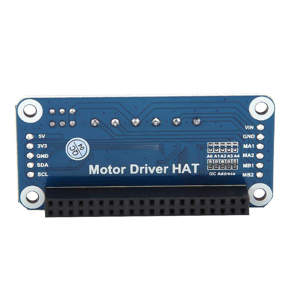 Motor Driver Board,2-Way DC Motor Driver Board,Motor Driver for Raspberry Pi,with PWM Dual H-Bridge I2C Interface