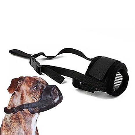 Bozal para perro, evita que se mueva para perros pequeños, medianos y grandes,